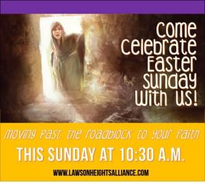 Easter Sunday Invite